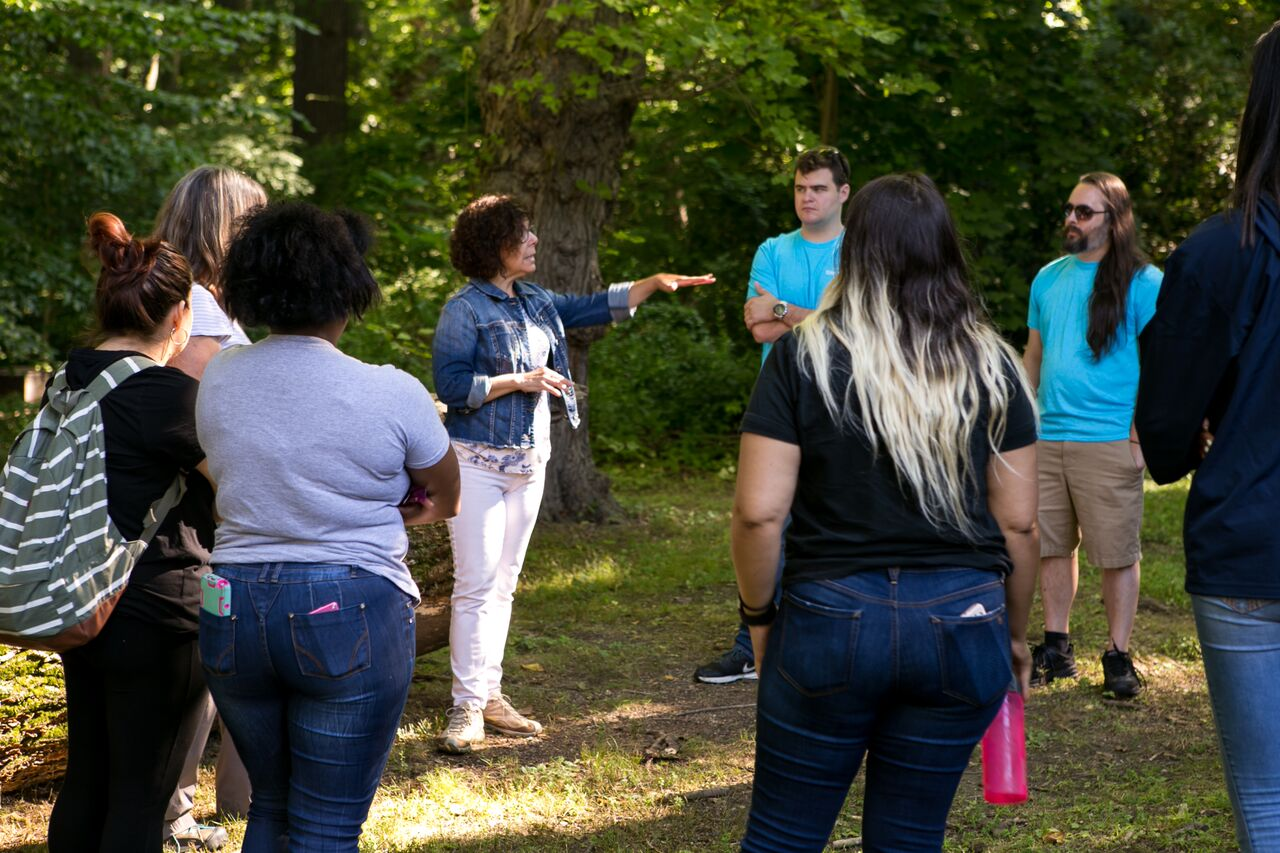 First On-Site Nature Program for Adults: Forest Therapy