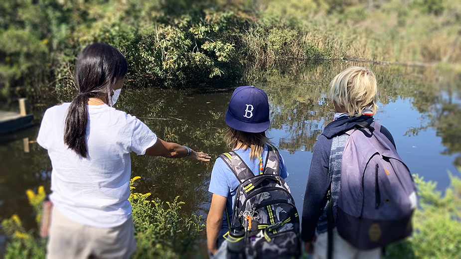CEED's Nature of Science Program Explores Our Watery World
