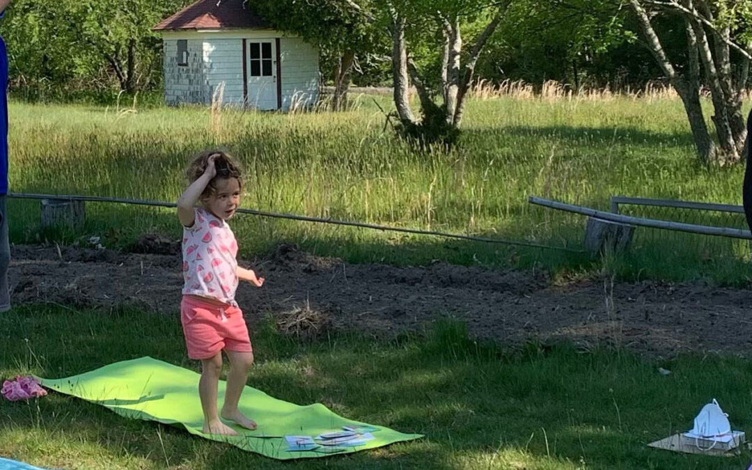 Jumpstart Caregiver and Little One Yoga at CEED