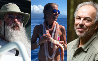 Amazing Trio of Scientists Talk About Whales At CEED